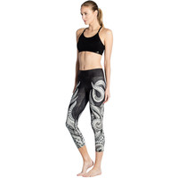 Octopus Print Fitness Leggings
