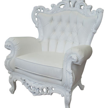 POLaRT King Armchair - White