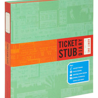 Chronicle Books Travel Ticket Stub Diary