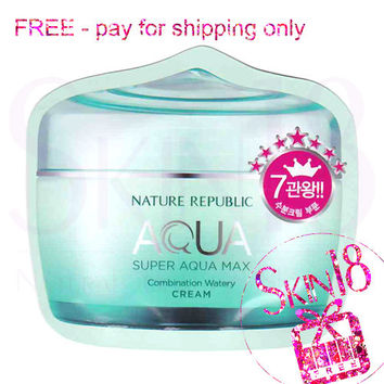 Freebies - Nature Republic Super Aqua Max Combination Watery Cream (Combination skin)