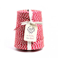 Big Roll Of Red & White Baker's Twine - home office - house & home