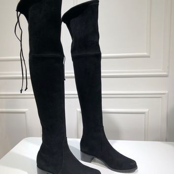 Kuyou Gx39930 Stuart Weitzman Sw Casual Shoes Women Over The Knee Boots