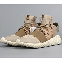 Adidas Tubular Doom PK tide brand fashion sneakers khaki