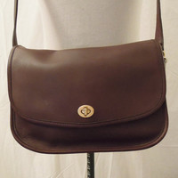 Coach Leather Purse - Brown and Vintage