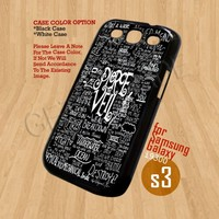 pierce the veil - Print On Hard Case Samsung Galaxy S3 i9300