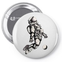astronaut Pin-back button