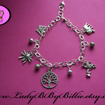 Tree Of Life Handmade Nature Charm Bracelet