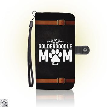 Goldendoodle Mom, Family Love Wallet Case