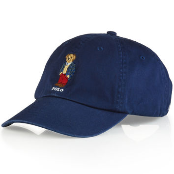 Polo Ralph Lauren Polo Bear Chino Baseball Cap - Preppy Polo Bear