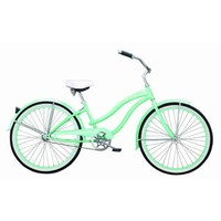 "Ladies Beach Cruiser Bicycle - 26"" Rover GX - Mint"