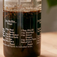 Salad Dressing Recipe Bottle - Urban Outfitters