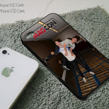 Nash Grier and Cameron Dallas Cover - iPhone 4 4S iPhone 5 5S 5C and Samsung Galaxy S3 S4 Case