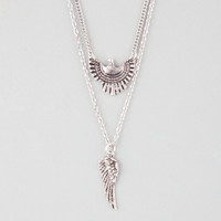 FULL TILT Eagle/Wing 2 Row Necklace | Necklaces