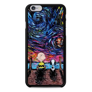 Van Gogh Snoopy And Charlie Brown iPhone 6/6S Case