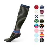 Compression Socks for Women & Men Graduated 20-30 mmHg Compression Stockings for Sport Running Crossfit Travel- Suits Nurse