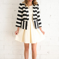 Cathy Stripe Blazer
