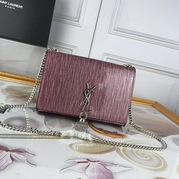hcxx1871 YSL Saint Laurent Pearlescent Surface of Perilla Paula Wire Pink