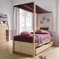 CLASSIC STYLE FITTED WOODEN TEENAGE BEDROOM FOR BOYS/GIRLS 260 - CORDAGE NAVIGATOR | CAROTI