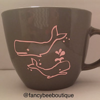 Two Pink Whales, Good Morning Beautiful, Good Vibes Only 16 oz Mug