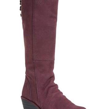 'Yust' Knee High Platform Wedge Boot (Women)