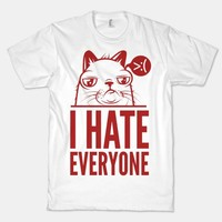 I Hate Everyone (grumpy) (tee)