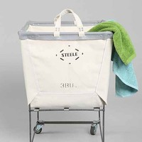 Steele Canvas Elevated Laundry Hamper- Neutral One