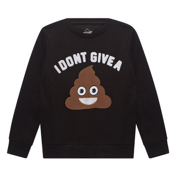 POO Emoji Graphic Sweatshirt