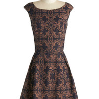 Fit for a Queendom Dress | Mod Retro Vintage Dresses | ModCloth.com