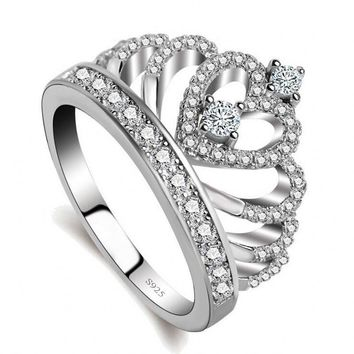Zirconia crown ring