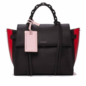 Elena Ghisellini S Angel Game Top Handle Handbag