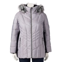 ZeroXposur Savannah Shimmer Quilted Puffer Jacket - Women's Plus Size, Size: