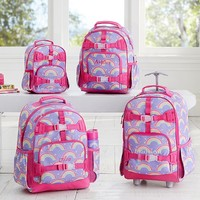 Mackenzie Lavender Rainbow Backpack