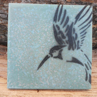 Hummingbird Stencil 6x6 by DaySeven on Etsy