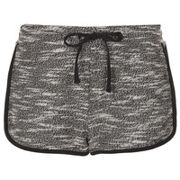Charcoal Fleck Runner Shorts - New In This Week - New In - Topshop USA