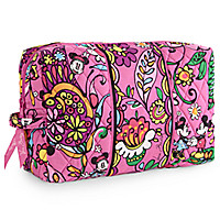 Just Mousing Around Large Cosmetic Bag by Vera Bradley | Disney Store