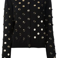 Moschino button embellished cardigan