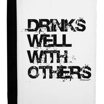 Drinks Well With Others Ipad Mini Fold Stand  Case by TooLoud