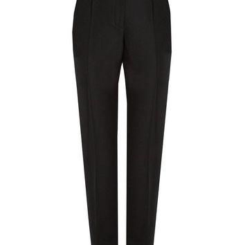 ONETOW cigarette leg wool trousers balenciaga matchesfashion com us 2