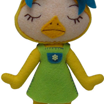Made to Order Kawaii Ducky Plush in Dress/Shorts