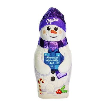 Milka Milk Chocolate Snowman, 1.76 oz (50 g)