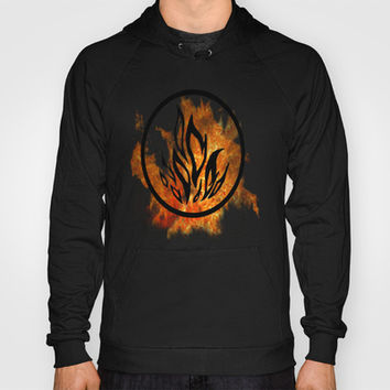 The Dauntless Divergent Hoody by AlixInsanity | Society6