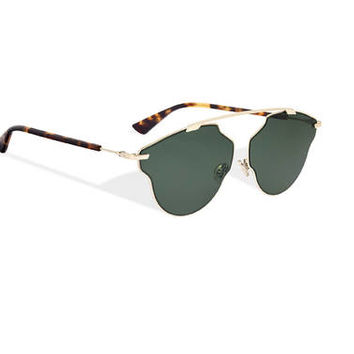 """dior so real pop"" sunglasses, green - Dior"