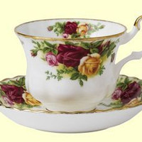 Old Country Roses Teacup & Saucer