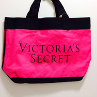 VS Color Block Tote Summer 2015 Pink/Red
