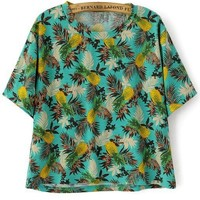 Lovely Pineapple Tee - OASAP.com
