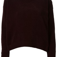 Isa Arfen chenille loose fit sweater