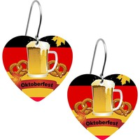 German Beer Oktoberfest Earrings