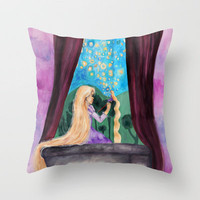 I Have A Dream Throw Pillow by Krista Rae | Society6