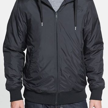 The North Face Men's 'Dormer' Reversible Hooded Bomber Jacket,
