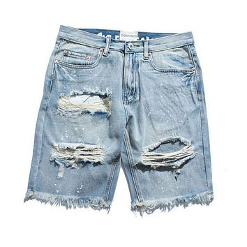 Casual Ripped Hip Hop Denim Shorts